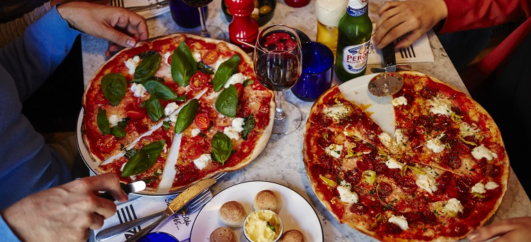40% off at PizzaExpress