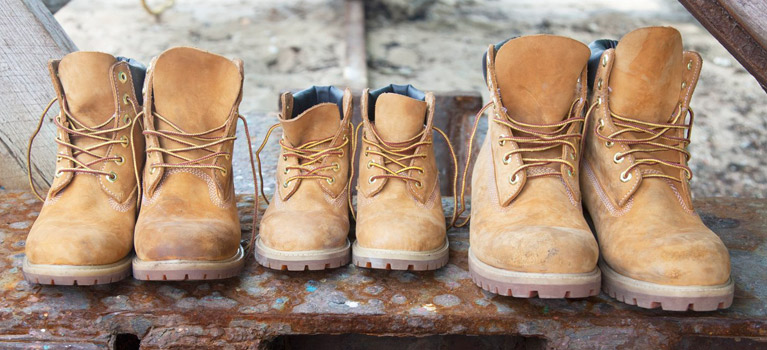 Difference between Women's and Men's Timberlands