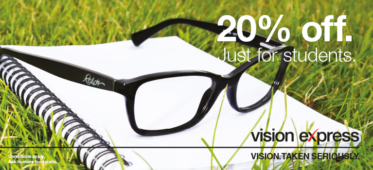b04db69eb9 20% off at Vision Express
